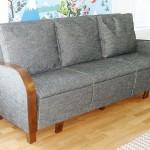 Pormestarin sohva + irtotyynyt